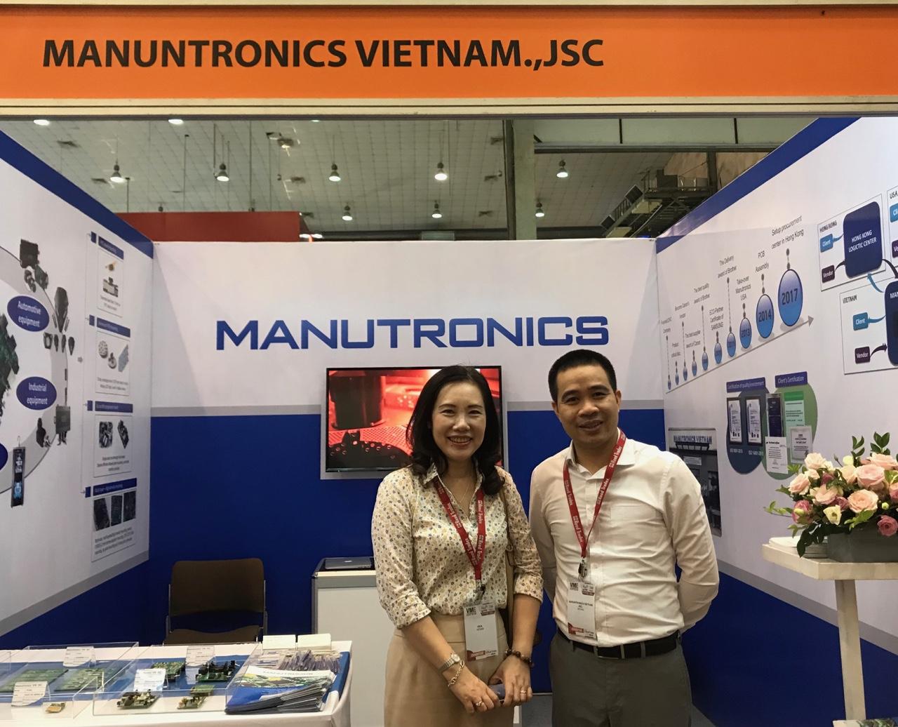 Manutronics tham gia TRIỂN LÃM CHẾ TẠO 2019 và HỖ TRỢ VIỆT NAM - NHẬT BẢN