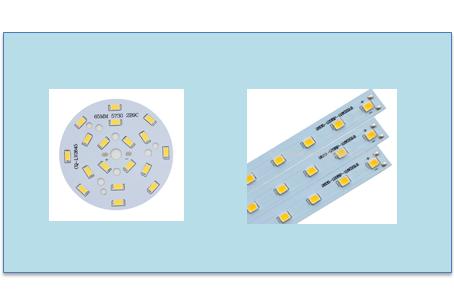 Aluminum PCB mounting